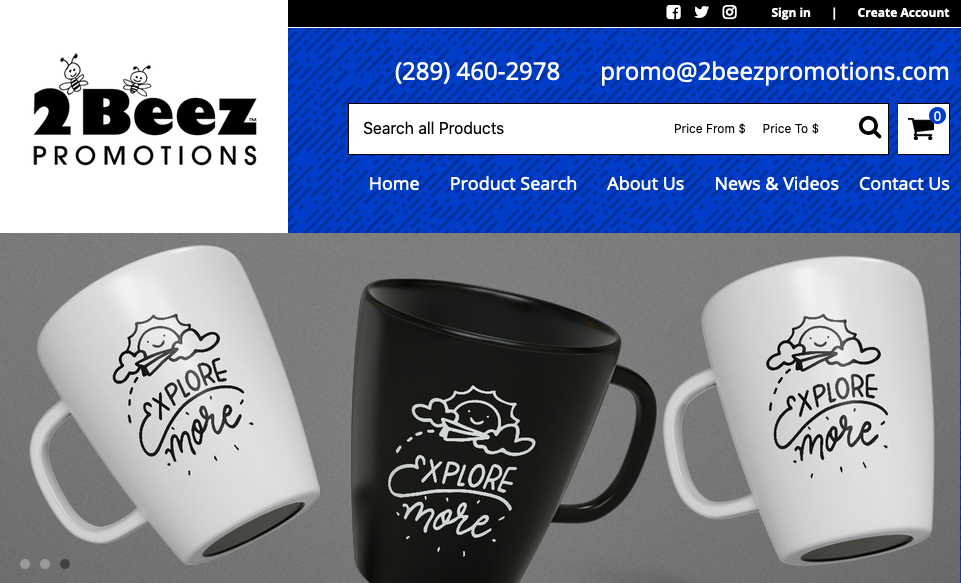 2Beez Promotions Products
